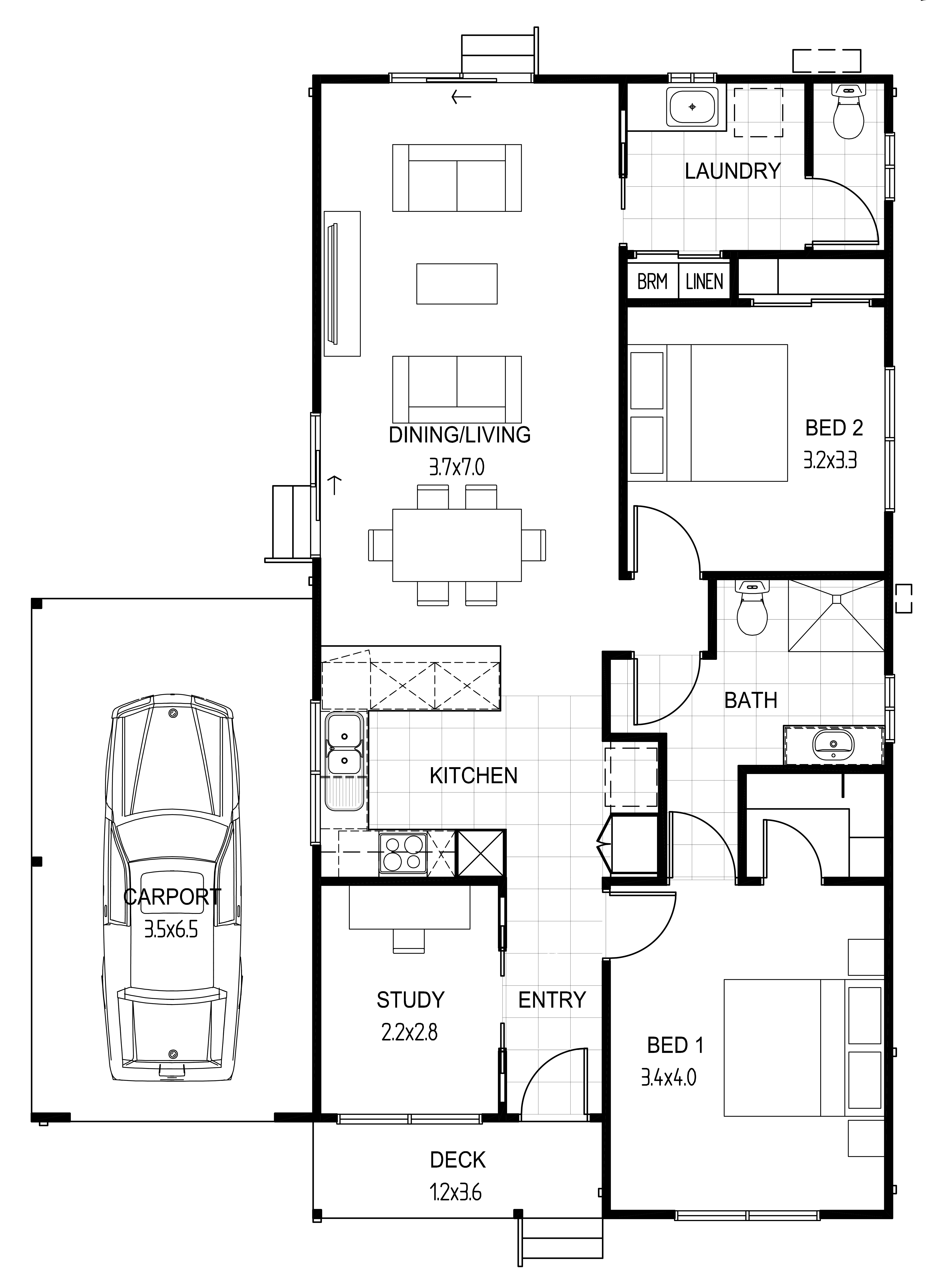 Murray at lifestyle geelong for Lifestyle homes floor plans
